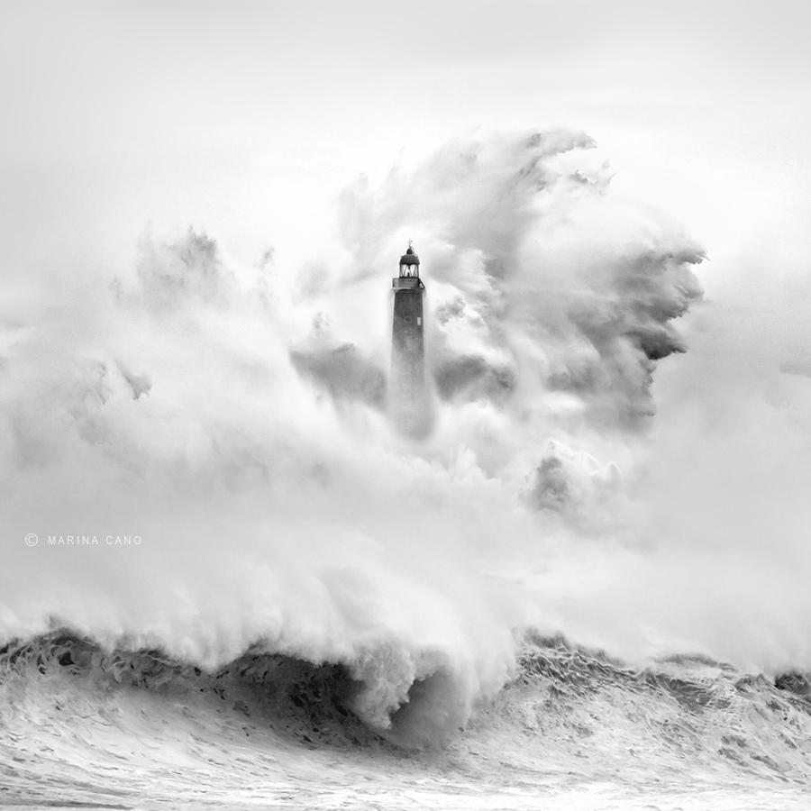 angry sea