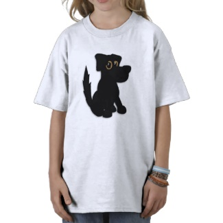 Black Dog Pooch Shirt