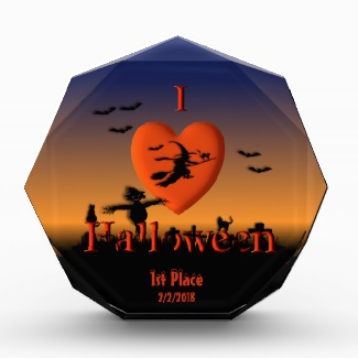 I Heart Halloween Costume Award