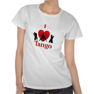 I Heart Tango Tees