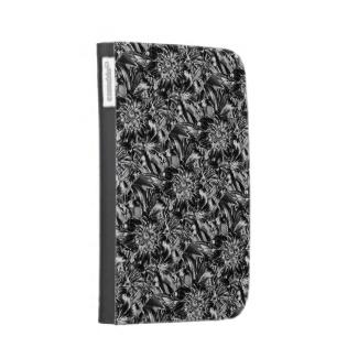 Metal Flowers Kindle Case