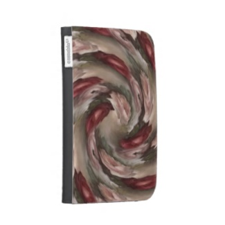 Pink Floral Swirl Cases For Kindle