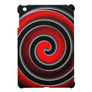 Red Hypno iPad Mini