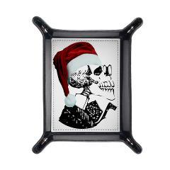 skeleton santa