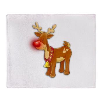 cute_rudolph_reindeer_throw_blanket