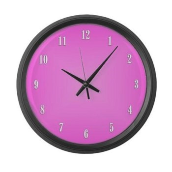 pink_wall_clock_large_wall_clock