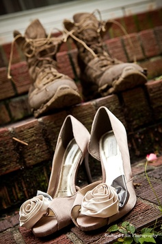 military wedding shoes