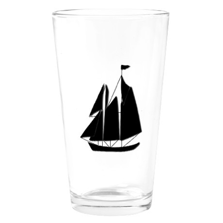 Sail Boat Drinking Glass by listing-store-11861778