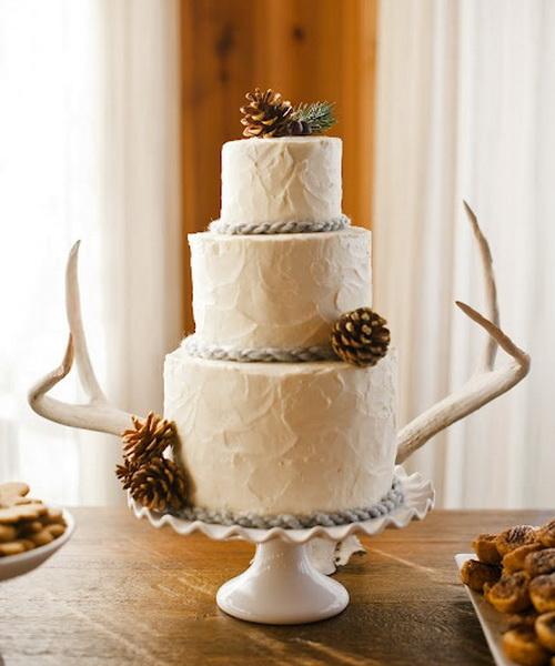 western wedding cake