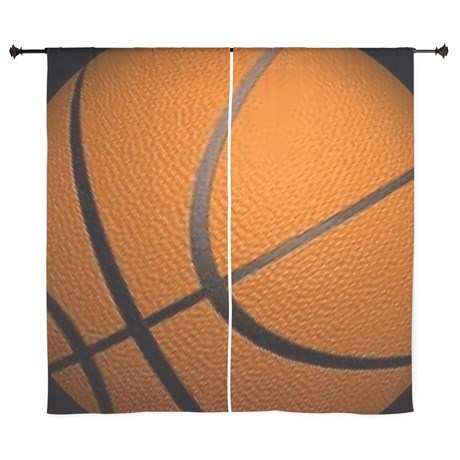 Basketball Big Wide Curtains