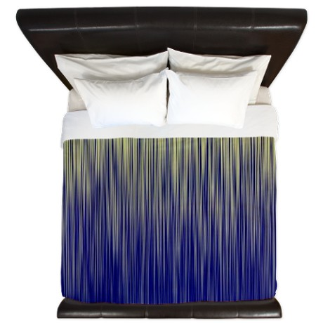 Cream and Navy Unite King Duvet by listing-store-11861778