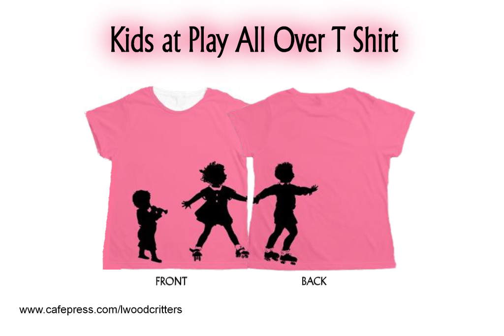 Kids At Play Women's All Over Print T-Shirt