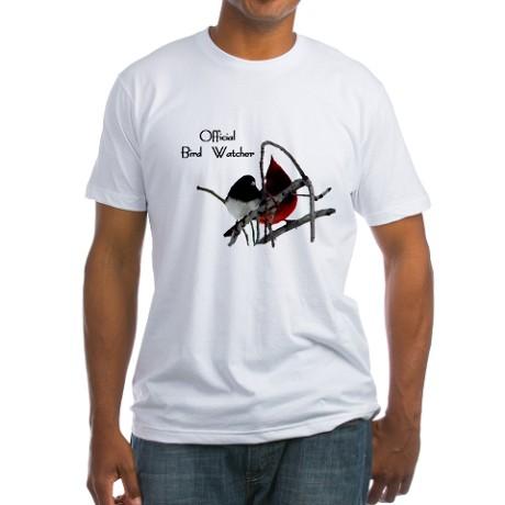 official bird watcher t shirt