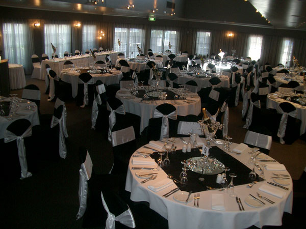 Black And White Wedding Home