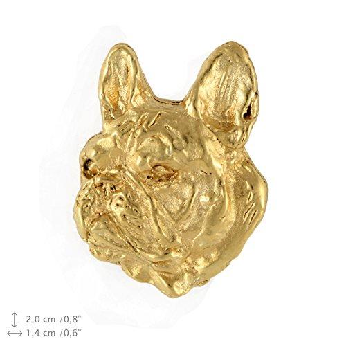 french bulldog pin