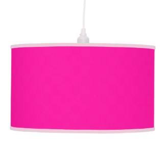 Solid Hot Pink Lamp