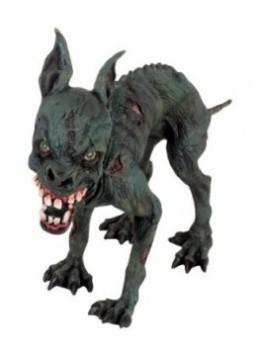 Zombie Dog Halloween prop