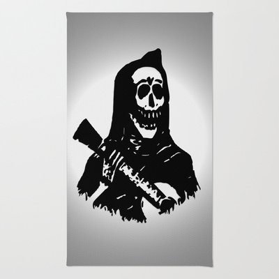day of the dead rug