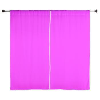 solid_hot_pink_curtain_curtains