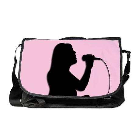 female_singer_pink_messenger_bag