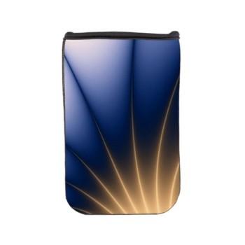 golden_spray_blue_fractal_nook_sleeve