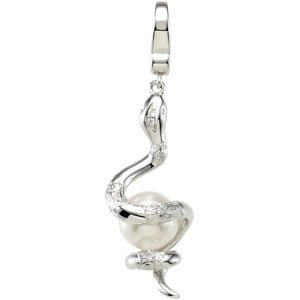 Cultured pearl snake charm