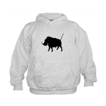 W art hog kids hoodie