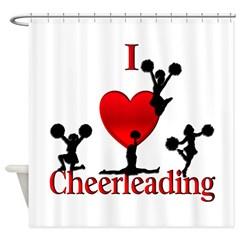 cheerleaders shower cutain