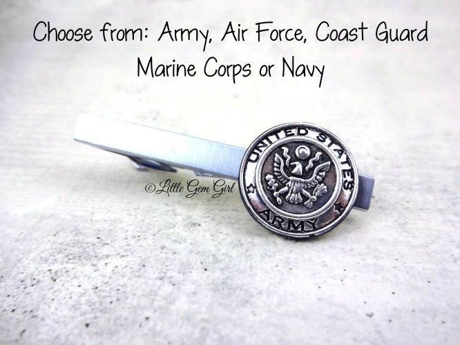 military tie clip