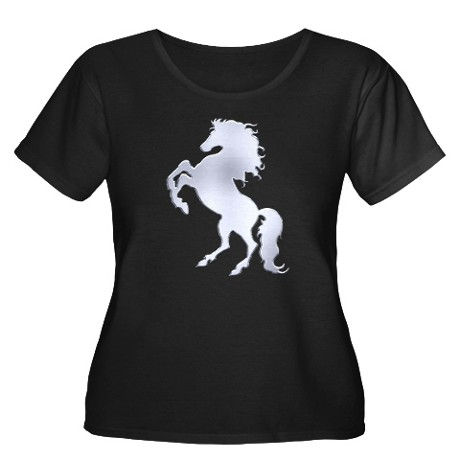 Silver stallion t shirt