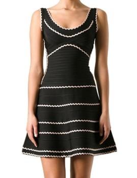 unique black and white dress 4