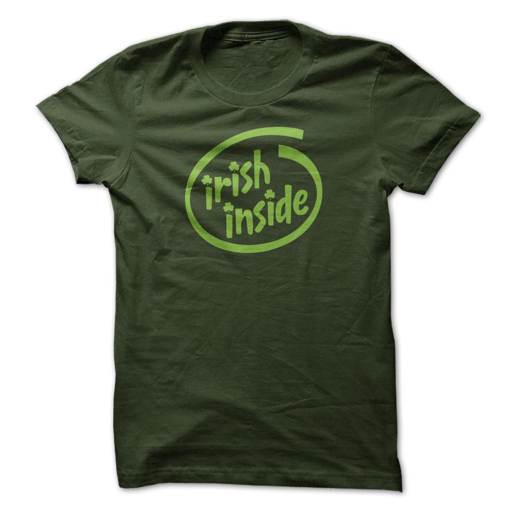 Irish inside t shirt