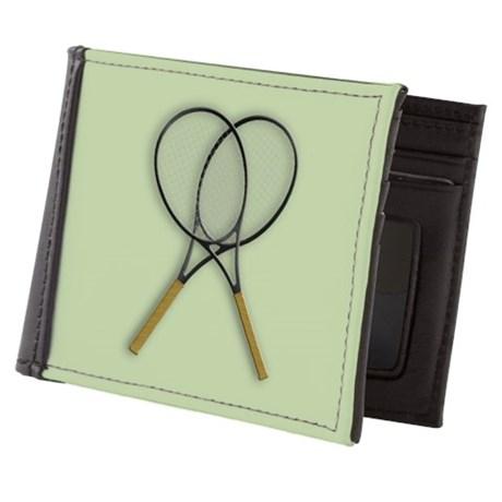 Tennis Sport Design Mens Wallet