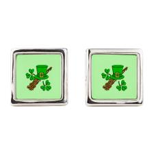 leprechaun_hat_square_cufflinks