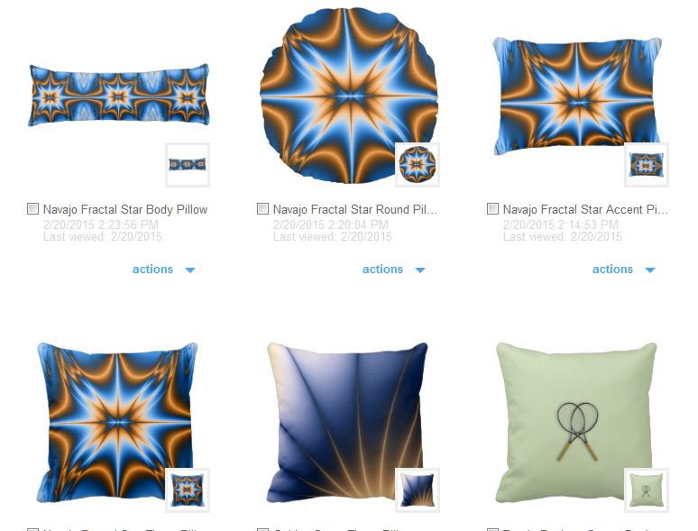 navajo star design throw and accent pillows