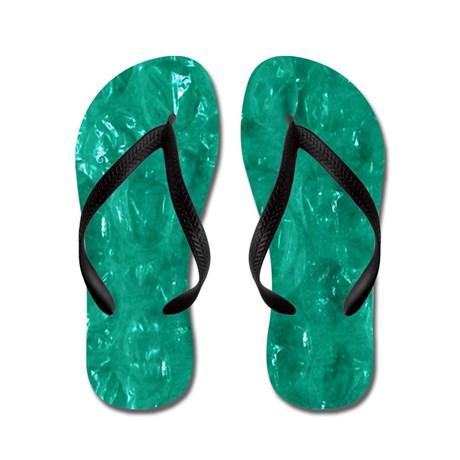 Cellophane Flip Flops