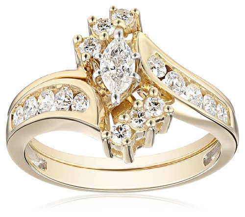 diamond marquee engagement rings