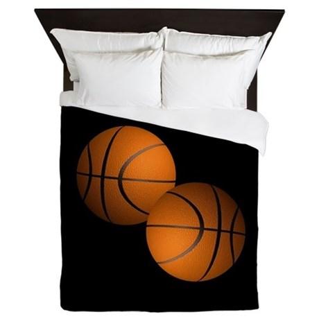 Basketballs Queen Duvet by Admin_CP11861778
