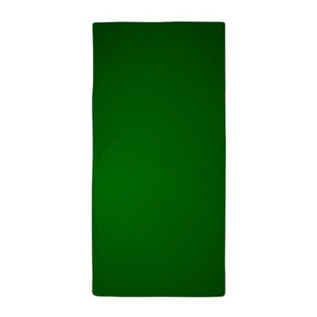 hunter_green_gradient_beach_towel