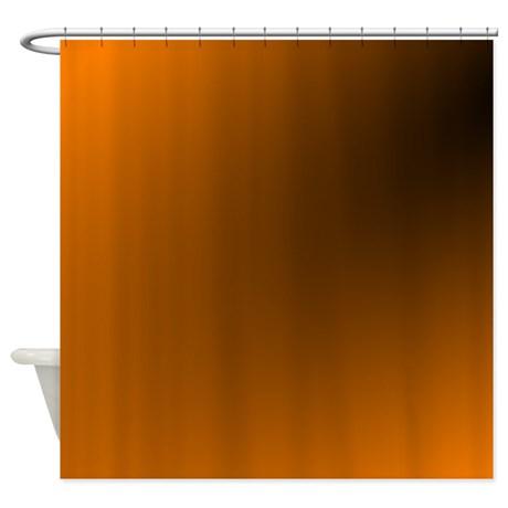 orange_and_black_shower_curtain