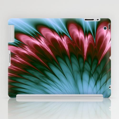 Pink and Aqua iPad