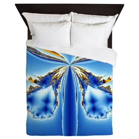 Blue Bells Queen Duvet by Admin_CP11861778