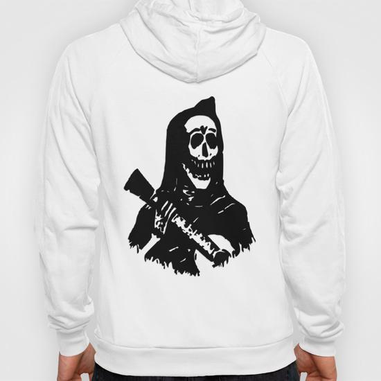 Guitar Skeleton Hoody