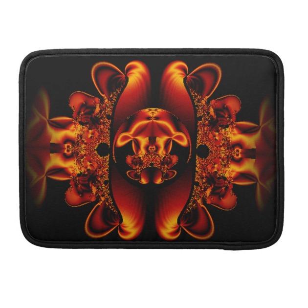 Bronze beauty fractal personal macbook sleeve macbook pro for Professional home design 7 0