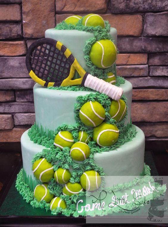 Tennis Wedding Ideas Cakes Home