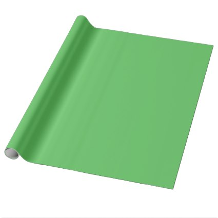 Solid Bright Green Wrapping Paper
