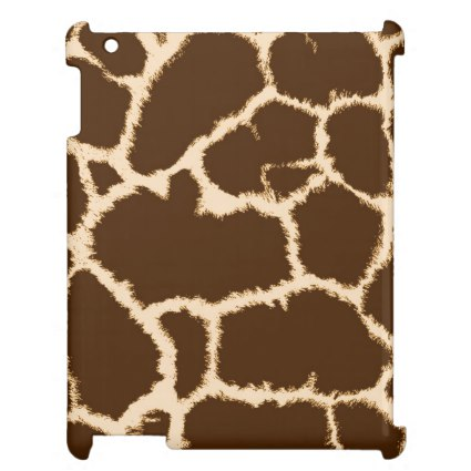 Giraffe Print Case For The iPad 2 3 4