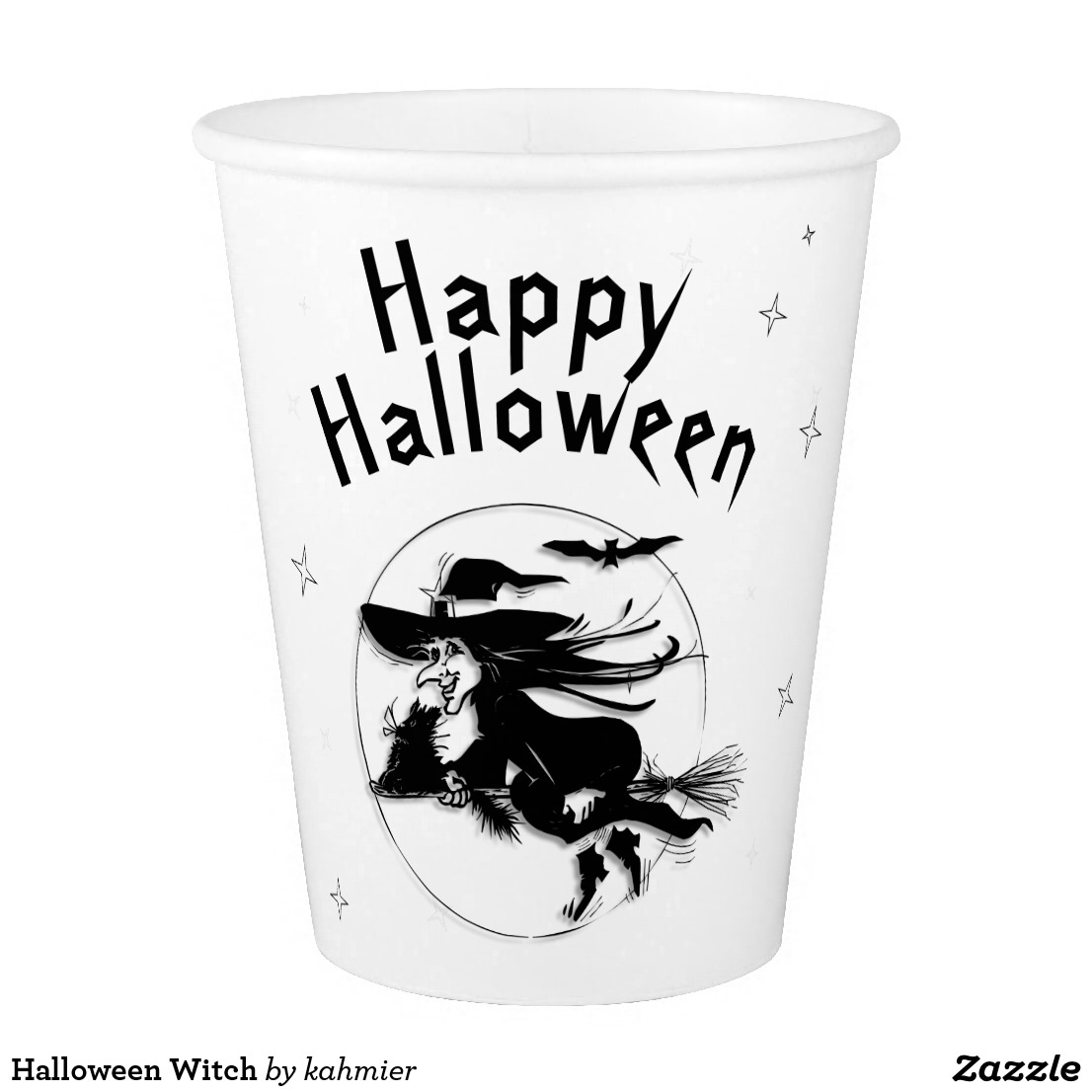 Halloween Witch Paper Cup
