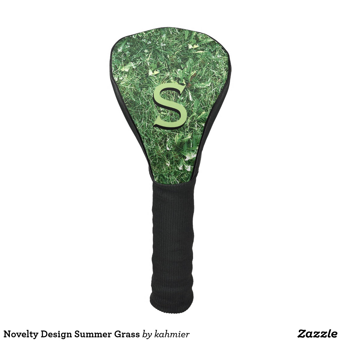 Novelty Design Summer Grass Golf Head Cover