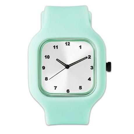 Black Number Clock Watch